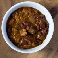 Drunken Pumpkin Chili (Crock Pot)