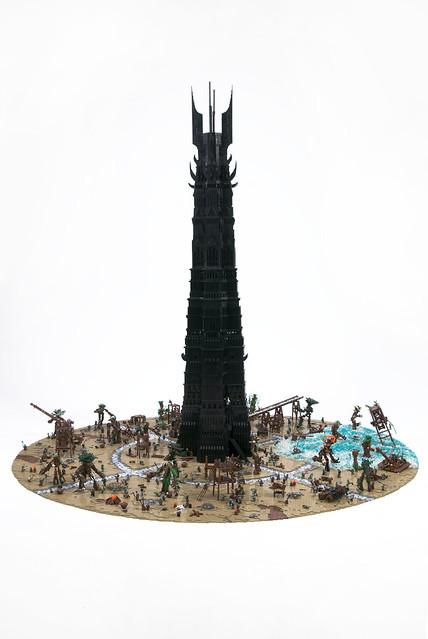 LEGO Last March of the Ents by OneLUG