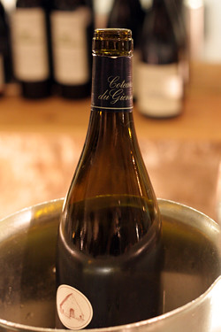 wine bottle at Verjus