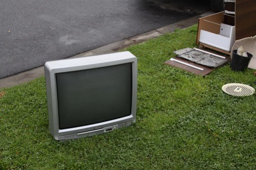 Spotted: CRT television number 3
