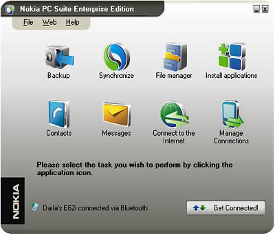 Nokia PC Suite: Software para controlar y administrar tu movil
