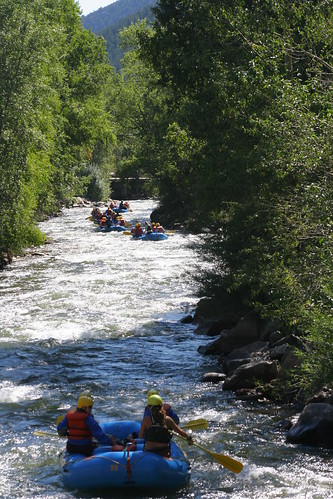 Rafting Clear Creek