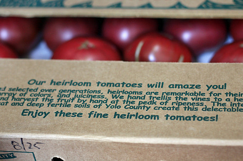 enjoy these fine heirloom tomatoes!
