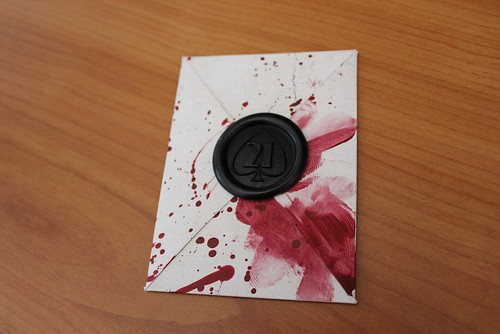 Halloween Horror Nights teaser card