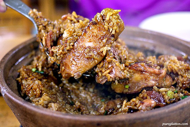 wing in rice