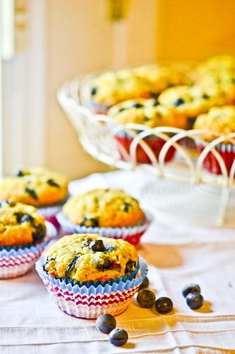 Banana Blueberry Muffins 8
