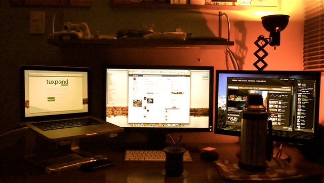 3 Screens Setup