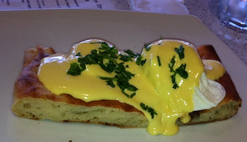 Egg Benedict with Ham at Taste Graze
