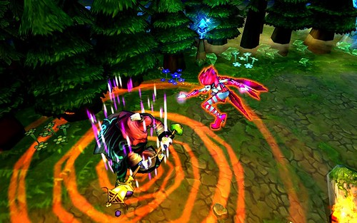 League of Legends: Version renovada de Defense of the Ancients