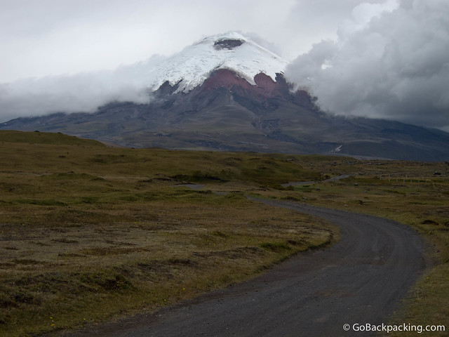 Cotopaxi Volcano from a distance