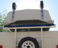 Popup camper boat rack modification; for those who like boats