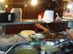 Mexican street food in the making