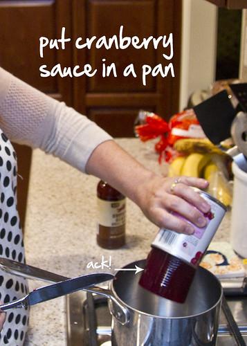 add cranberry sauce