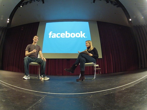 Mark Zuckerberg answers Jessica Livingston's questions at Startup School