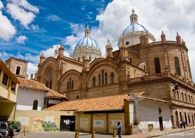 La Catedral in Cuenca, Ecuador
