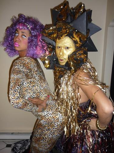 Nicki Minass and Monster