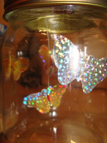 Milly's butterfly jar