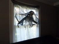 Halloween party window decorations