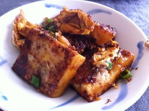 Mum's homemade Chai Tau Kueh