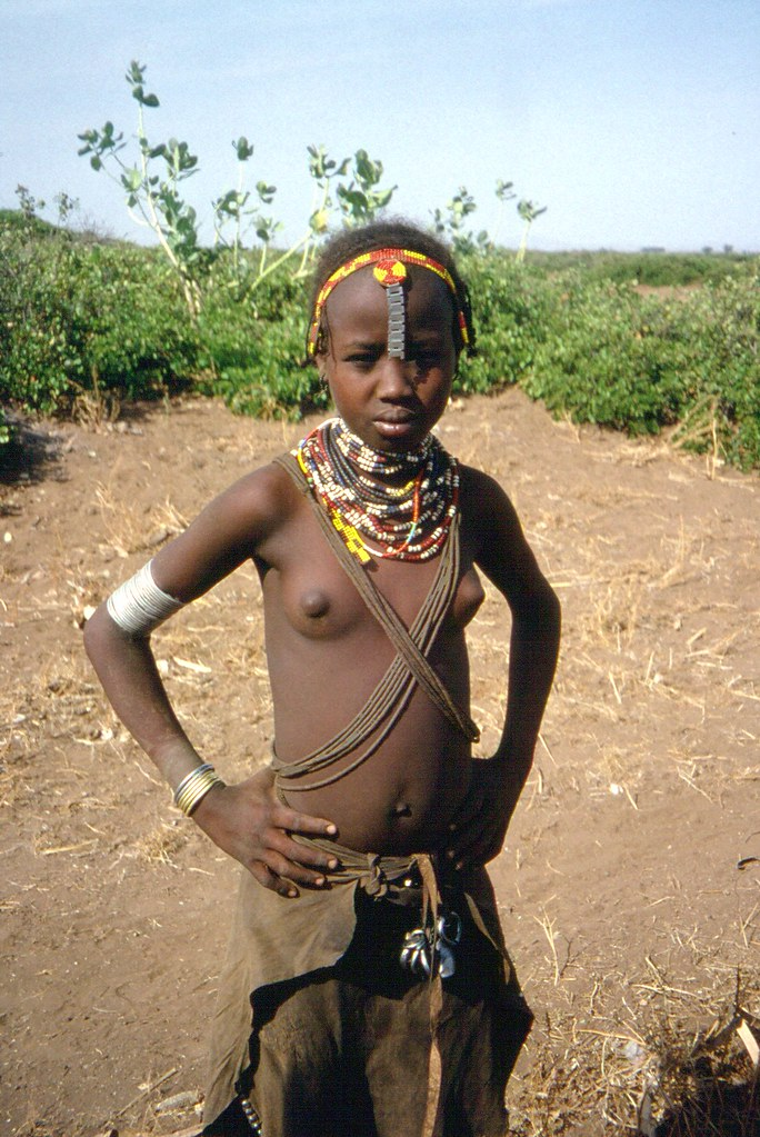 Girl tribe african women