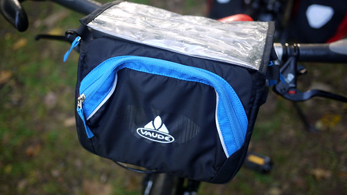 Friedel's New Handlebar Bag!