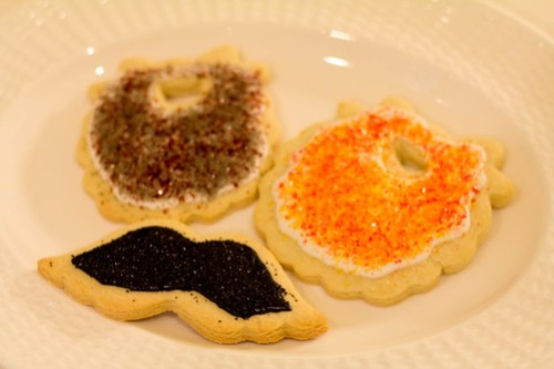 Sugar Cookies - Beards and Mustaches