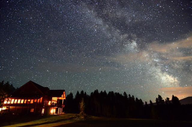 Thoughts Quotes Wallpaper Night Sky At Great Bear Inn Montana Flickr Photo Sharing