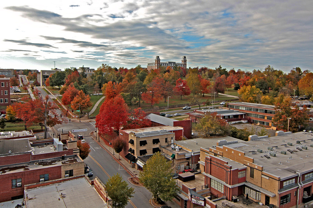 The Fall Movie Wallpaper Fayetteville Named No 4 Best College Town In The Nation