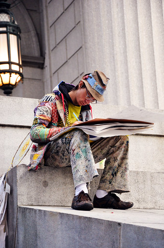 The Artist Observes - Occupy Wall Street