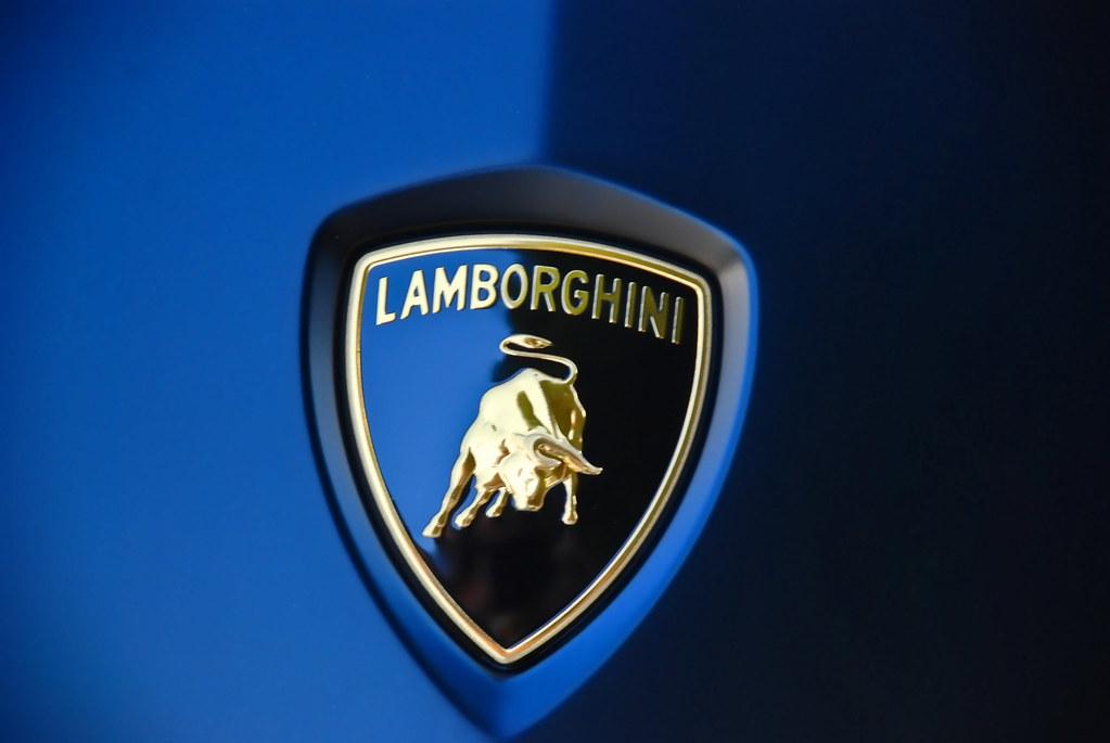 3d Car Wallpaper Hd Lamborghini Logo On Car Michael Gibson Flickr