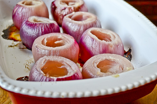 Sausage-Stuffed Red Onions 15