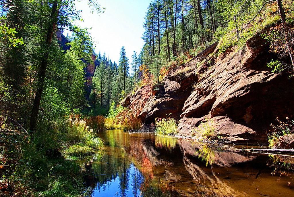 Free Fall Season Wallpaper West Fork Of Oak Creek Oak Creek Canyon Sedona Flickr