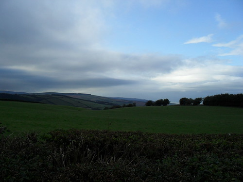 View from Ralegh's cross