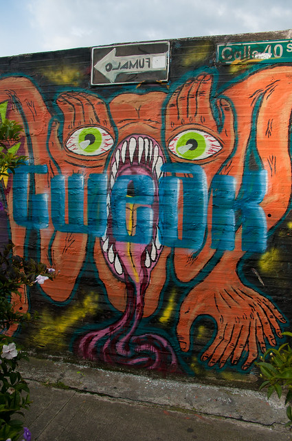 Medellin Graffiti Art