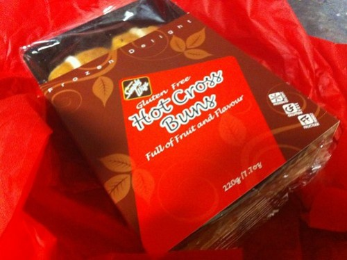 Simply Wize Gluten Free Hot Cross Buns