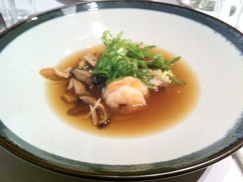 Seafood soup, nine fine food