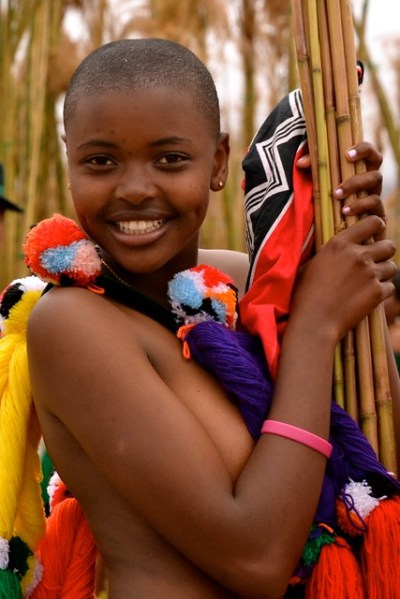 Swaziland Reed Dance A Gallery On Flickr Reed Festival In Swaziland