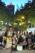 Al Fresco dinner | Robson Street