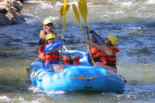 Rafting Clear Creek