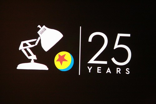 3d Logo Wallpaper Pixar 25th Anniversary Logo Colonelchi Flickr