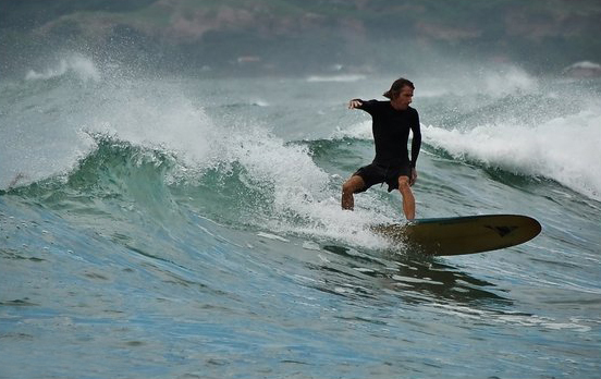 San Juan's surfing scene