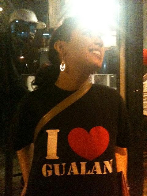 I love Gualan, she says... I wonder who she is?