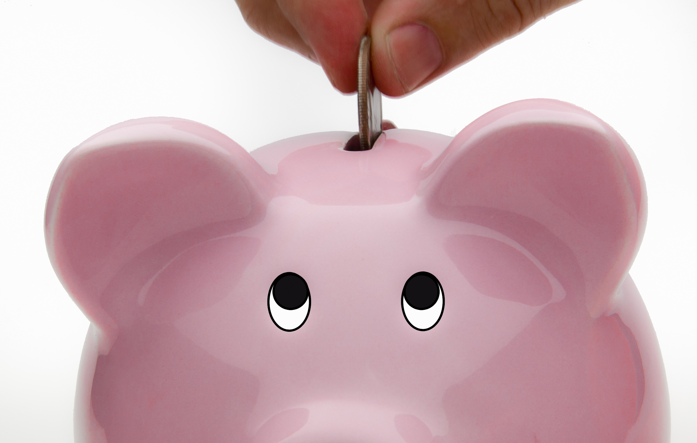 Cool Money Bank Deposit Into Piggy Bank Savings Account Flickr Photo