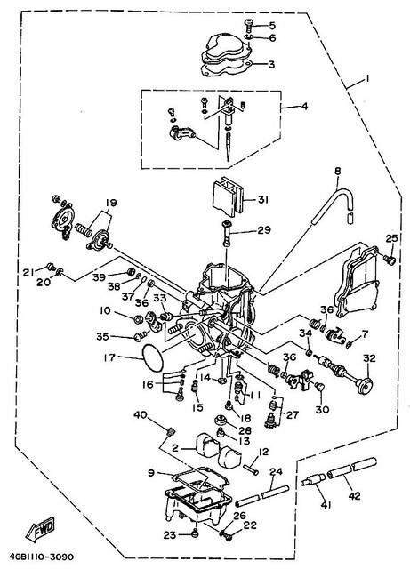 yamaha 350 warrior engine diagram