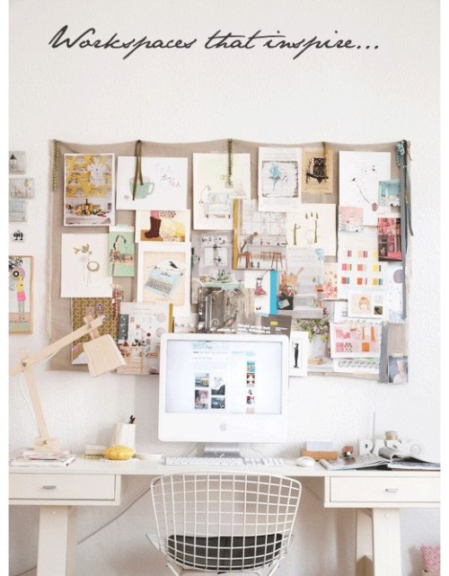 Workspaces that inspire