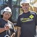 Construction Career Day volunteers.