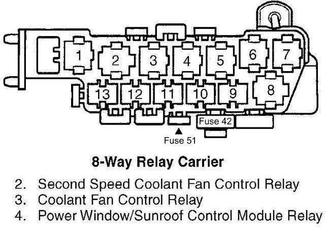 2002 audi a4 fuse relay diagram