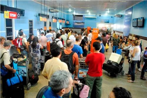 Aeroporto de Santarém. Foto: Arthur Alexander