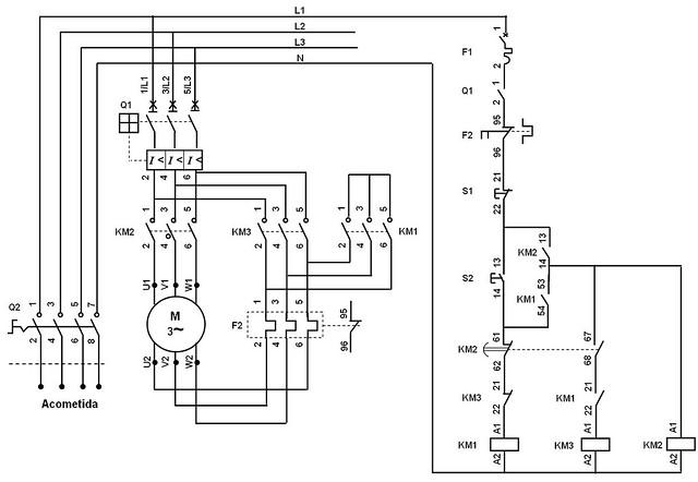detail diagrama de cableado