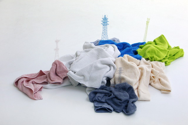 Takahiro Iwasaki; Out of Disorder, Towels; Image WeAreTape
